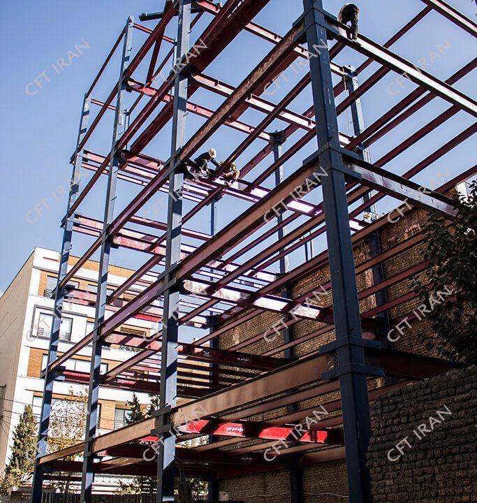 پروژه سازه CFT-تهران- پونک (1)