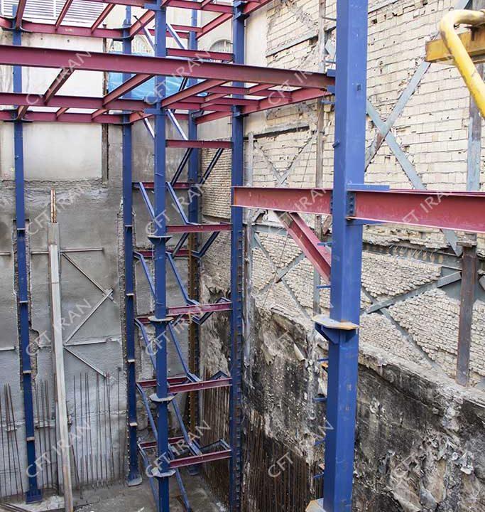 طراحی و اجرای سازه CFT در تهران - بهشتی (3)